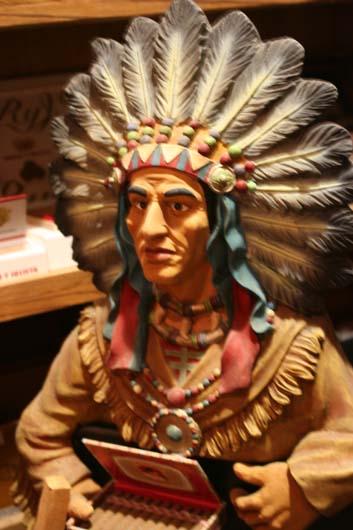 Cigar Indian